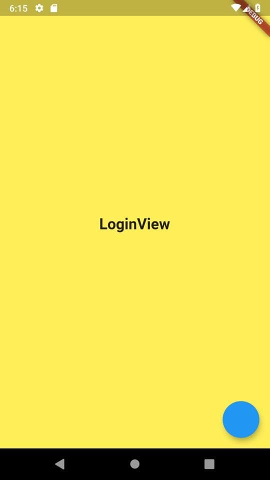 Login view after signup restart
